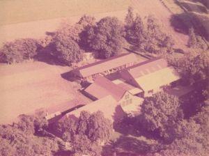 Zimmerei Wiefelstede Luftaufnahme 1971